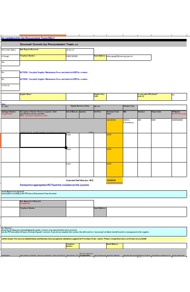 purchase order request form1