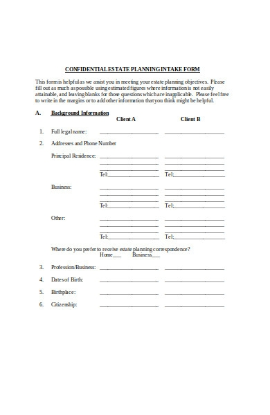 real estate loan request form