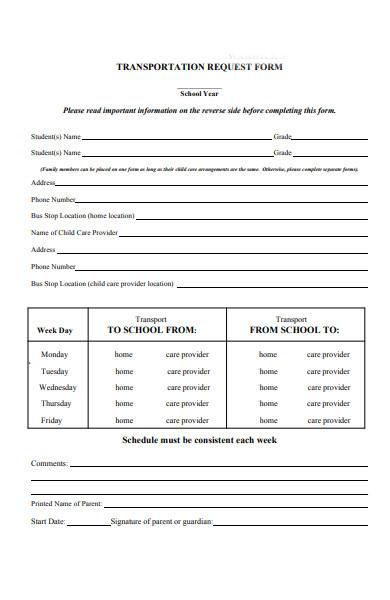 transportation movement request form1