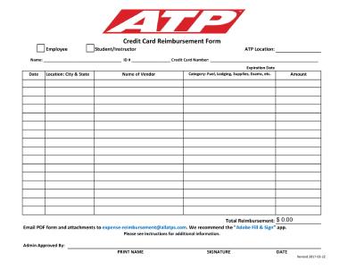 credit reimbursement form 3 1