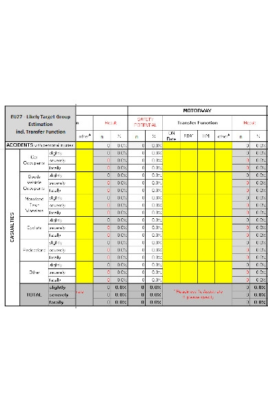 accident data form