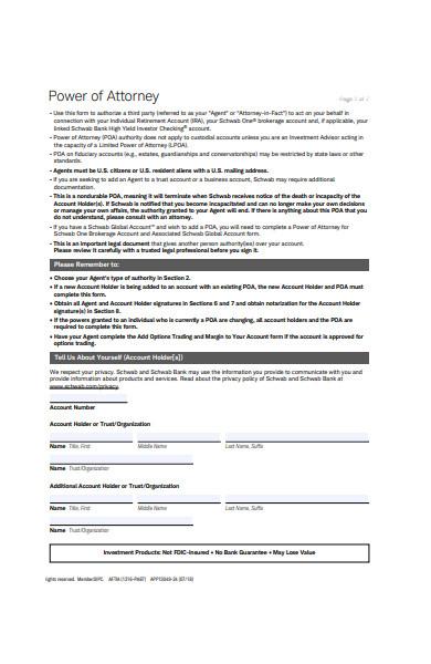 attorney notice form