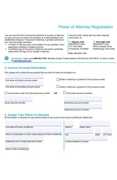 attorney registration form