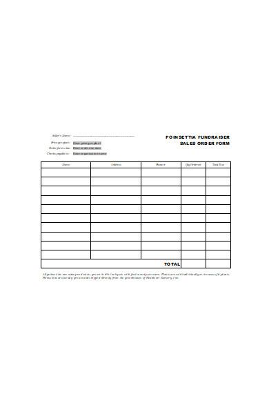 basic sales order form in doc