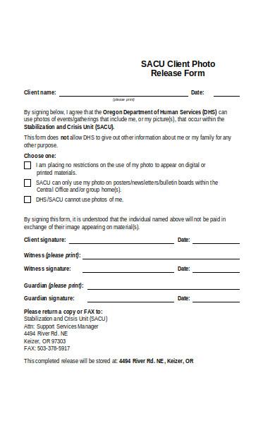 client photo release form1