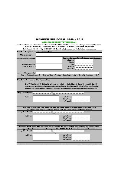 company membership registration form1