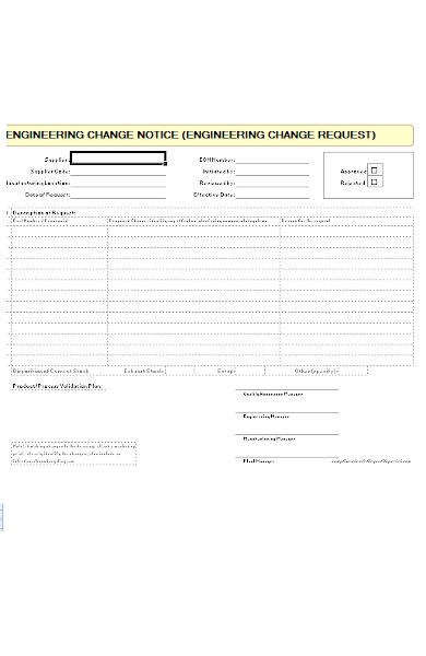 engineering change notice form1