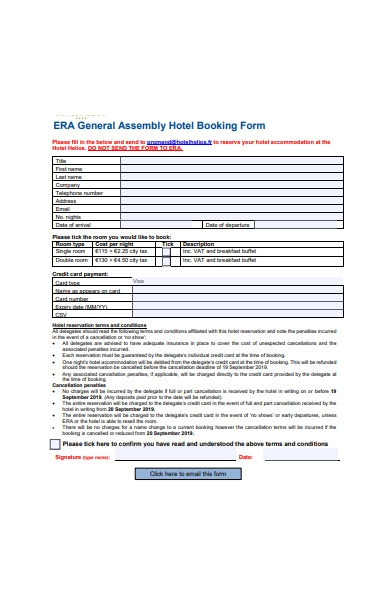 general assembly hotel booking form