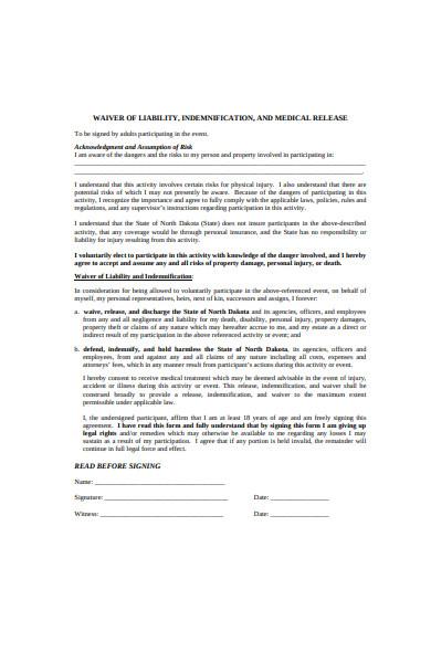 general liability form
