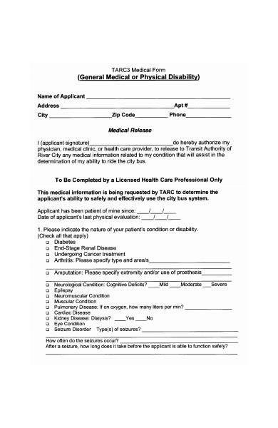 general medical form in pdf