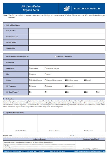 look cancellation form