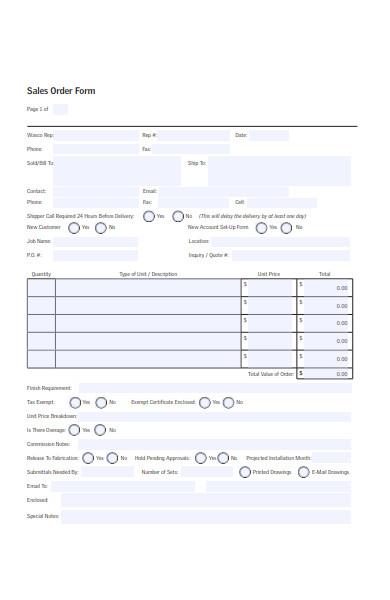 printable sales order form in pdf