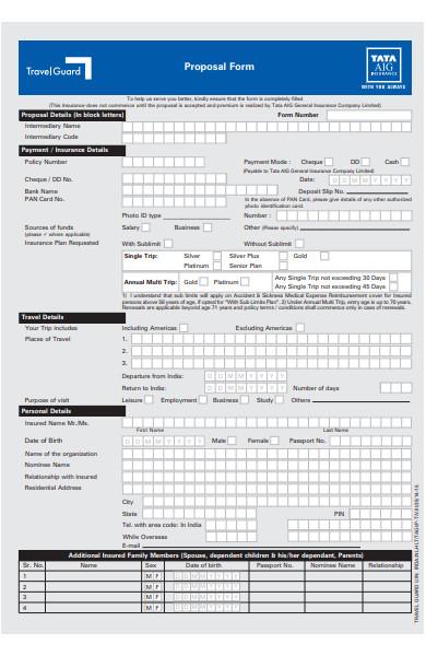 travel proposal form1