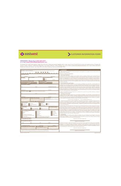 basic customer information form1