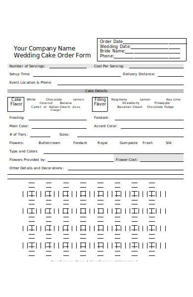 company name cake order form 1