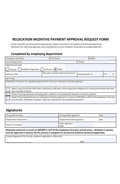 Free 51  Approval Request Forms In Pdf