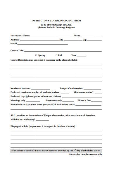 instructors course proposal form1