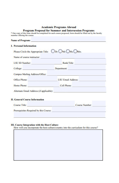 intersession course proposal form