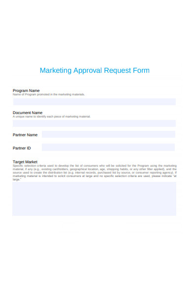 marketing approval request form1