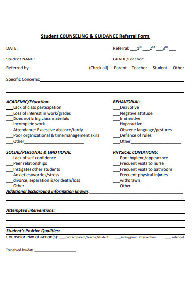 student counselling referral form1