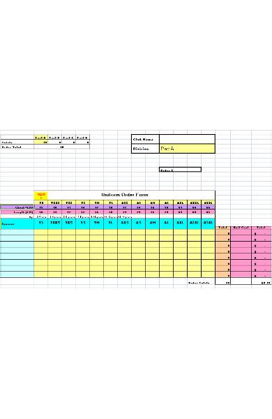 uniform payment order form