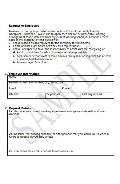 sample employee form