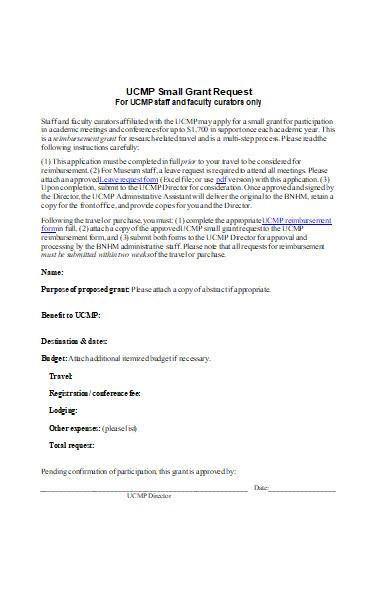 graduate travel application form
