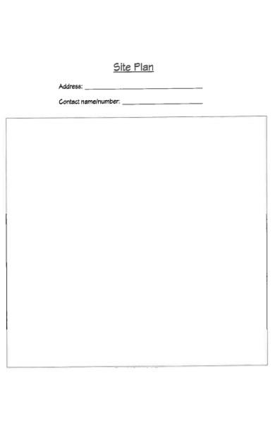 site plan form