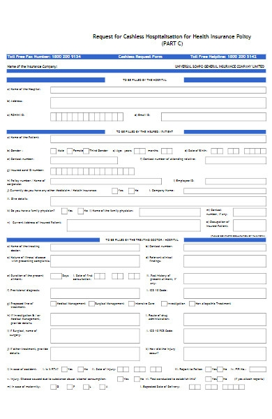 cashless request form
