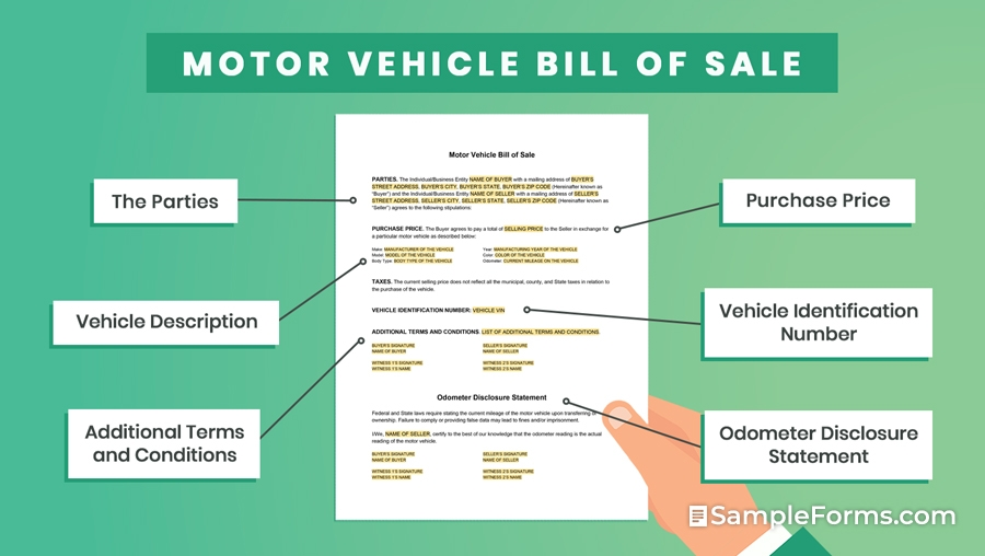 Motor-Vehicle-Bill-of-Sale